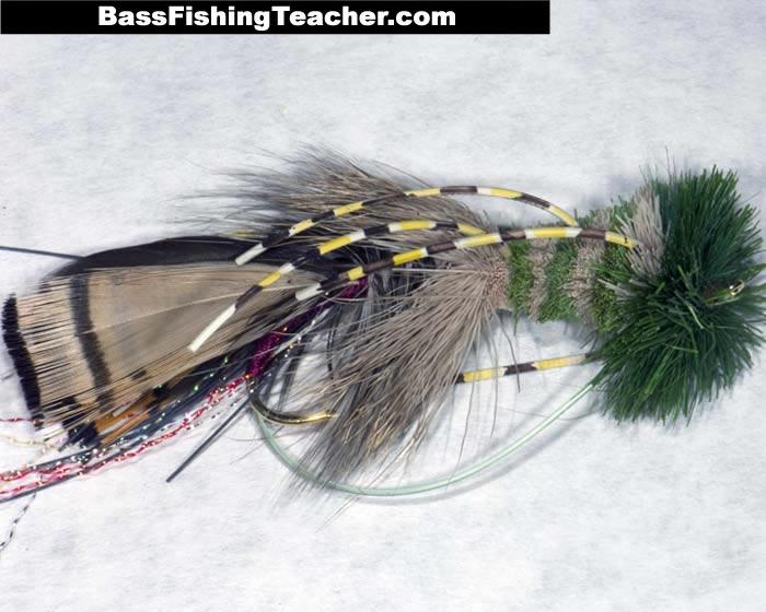 Bass flies bass fishing teacher for How to fly fish for bass
